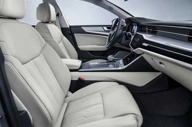 2019 Audi Pickup Truck interior