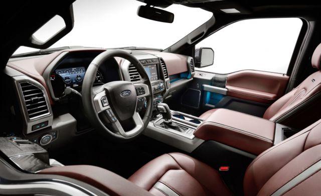 2019 Ford F-150 interior