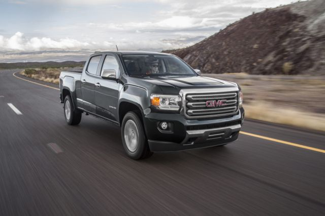 2019 GMC Canyon front