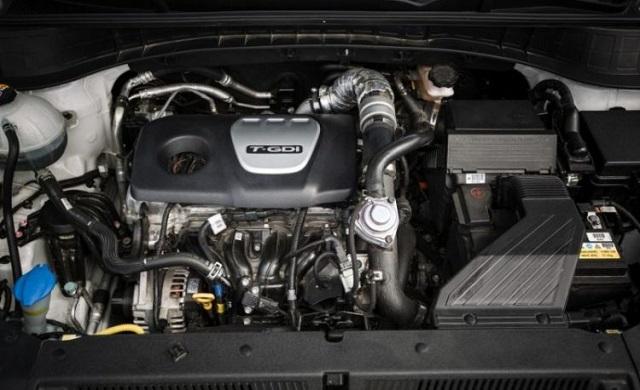 2019 Hyundai Santa Cruz Pickup engine
