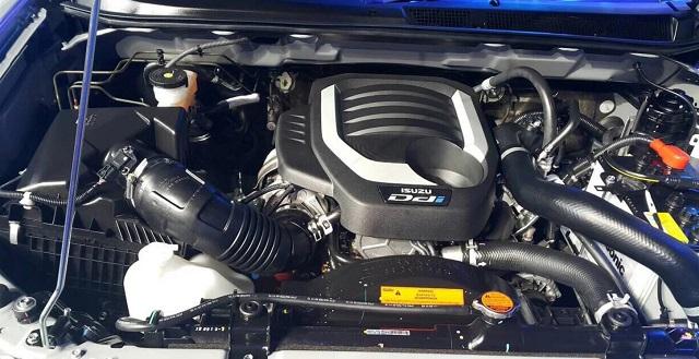 2019 Isuzu D-max engine