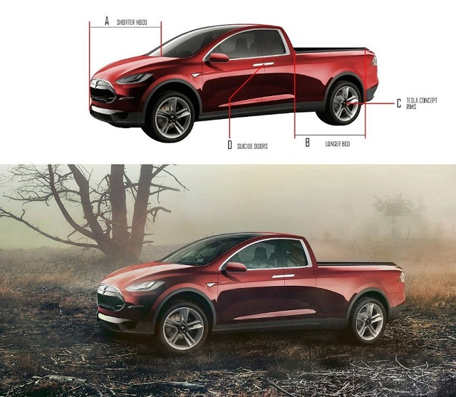 Tesla Pickup Truck Concept review