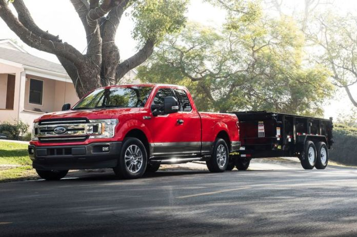 2019 Ford F-150 Diesel front