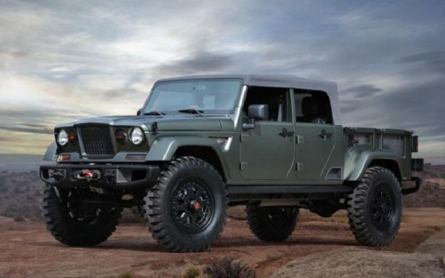 2019 Jeep Scrambler front view