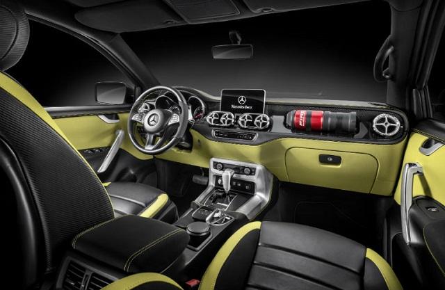 2019 Mercedes Benz x-class interior
