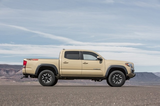 2019 Toyota Tacoma Diesel side view