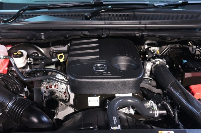 2019 mazda bt-50 engine