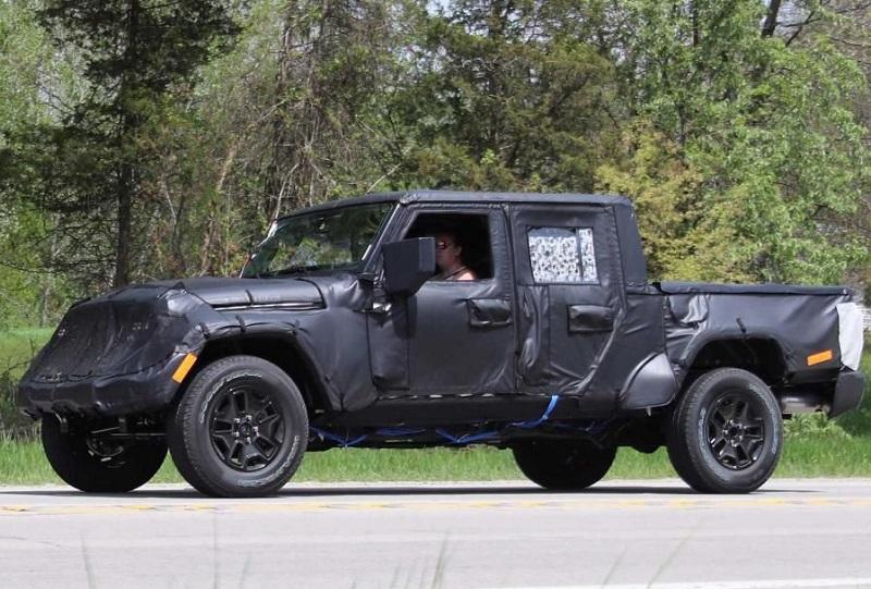 2019 Jeep Wrangler JT Pickup Truck Rumors