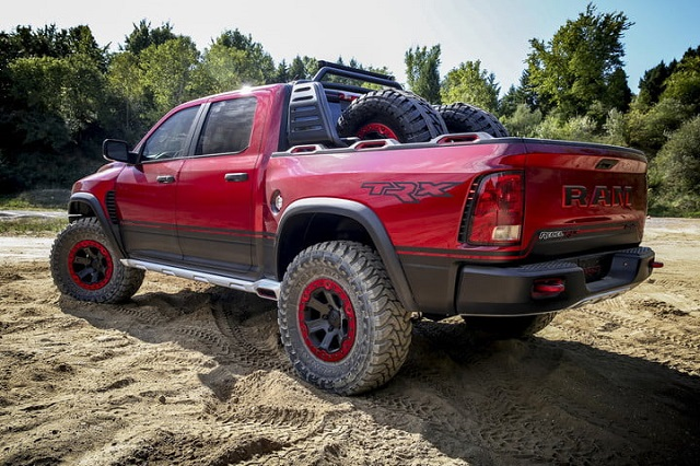 2019 Ram Rebel TRX rear view