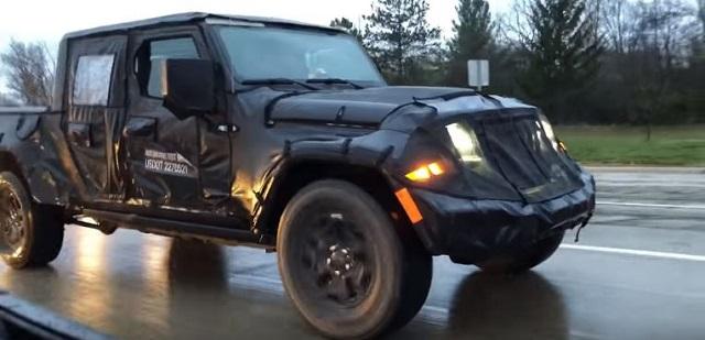 2019 jeep wrangler jt pickup truck