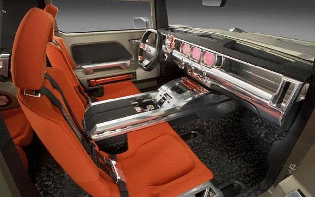 Hummer HX Concept interior