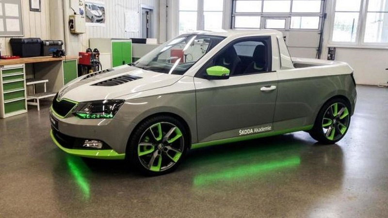 Skoda Pickup Truck Concept review