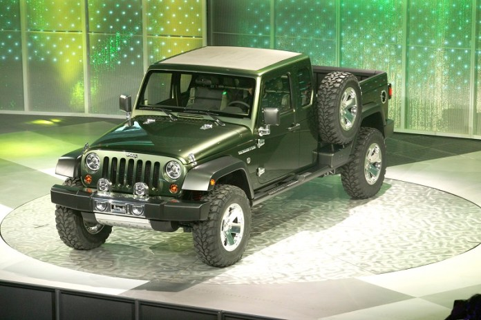 Jeep Gladiator pickup truck Concept Release date