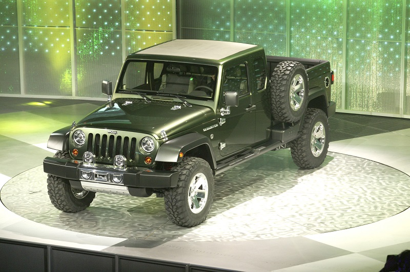 jeep gladiator pickup truck c