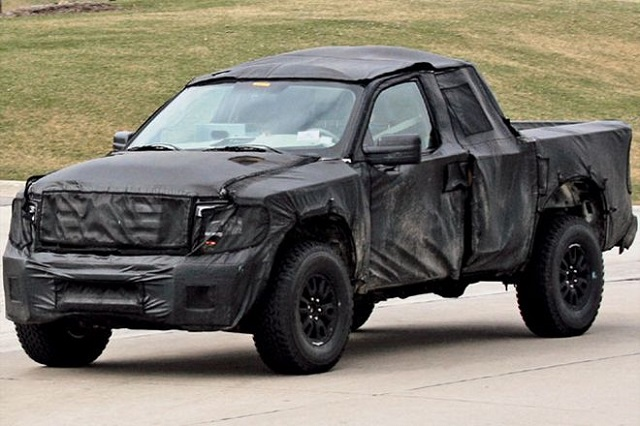 kia pickup concept spy shots