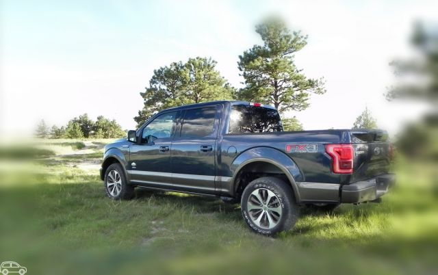 2019 Ford F-150 King Ranch rear