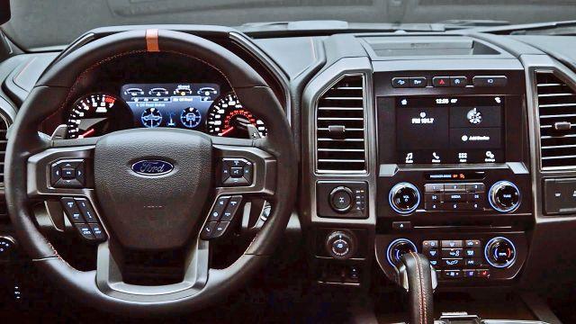 2019 Ford F-150 Raptor interior