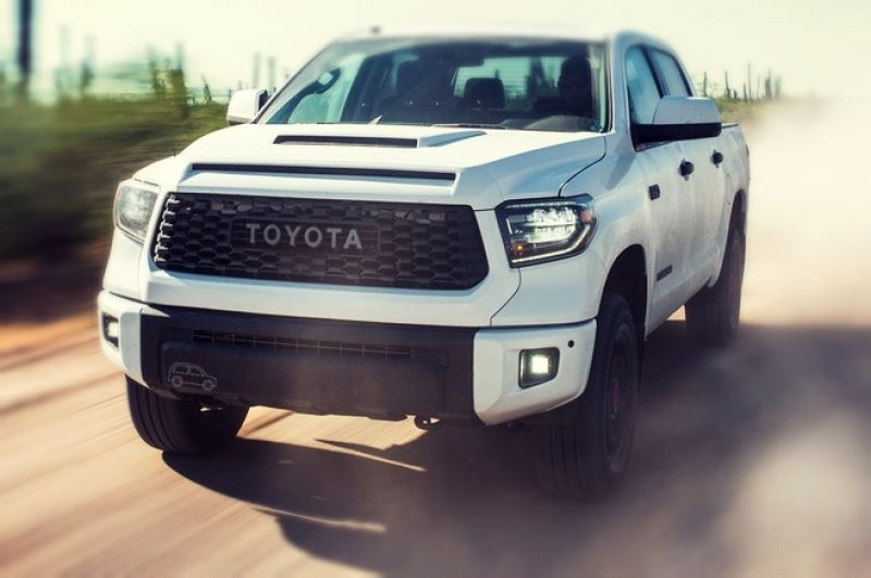 2019 Toyota Tundra TRD Pro front