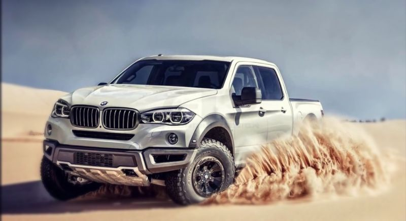 2020 BMW Pickup Truck front
