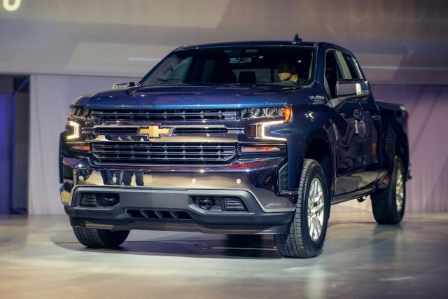 2020 Chevy Silverado side