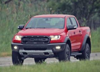 2020 Ford Raptor front