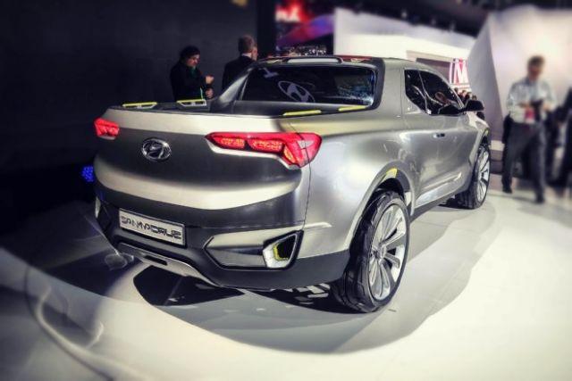 2020 Hyundai Santa Cruz rear