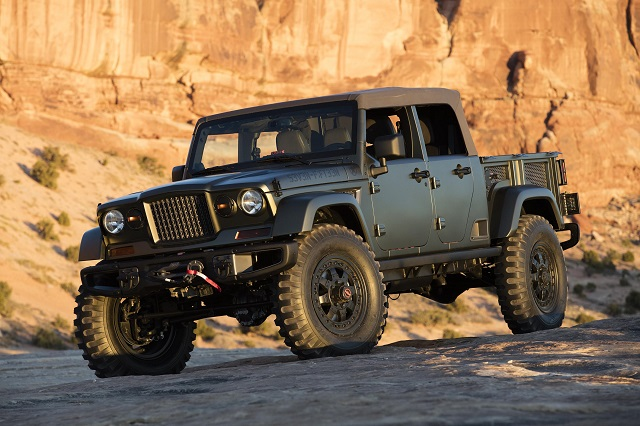 2020 Jeep Scrambler front view