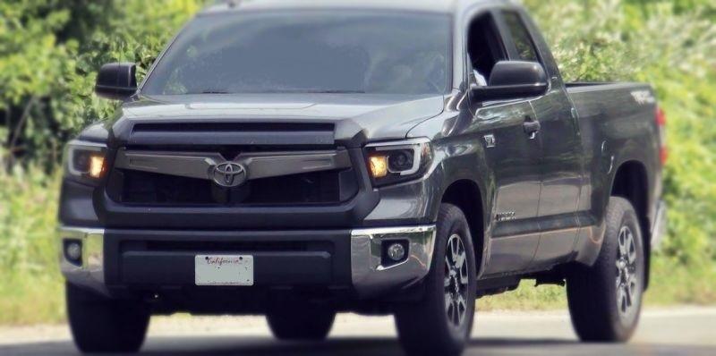 2020 Toyota Tundra front