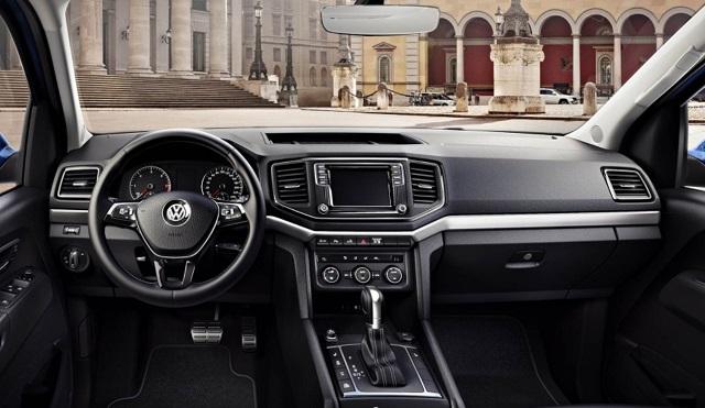 2019 VW Amarok USA Edition interior