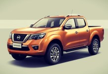 2020 Nissan Frontier front view