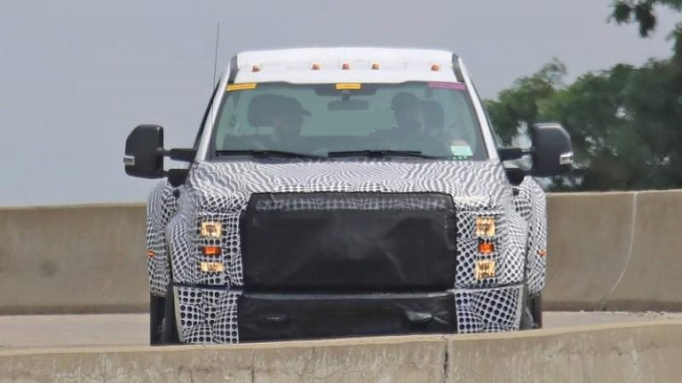 2020 Ford Super Duty caught wearing a full camo
