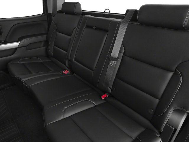 2020 Chevy Silverado HD seats