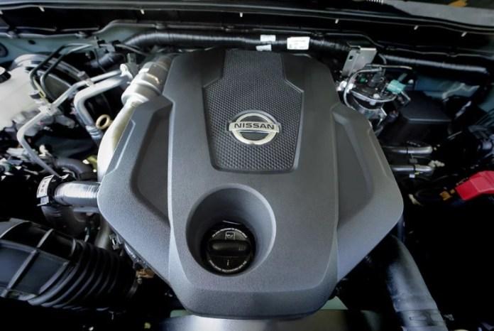2020 Nissan Navara engine