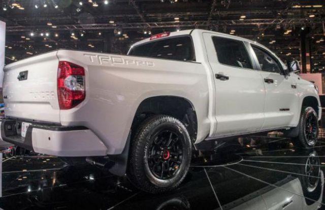 2020 Toyota Tundra TRD Pro rear
