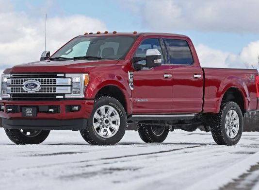 2020 Ford F-250 side