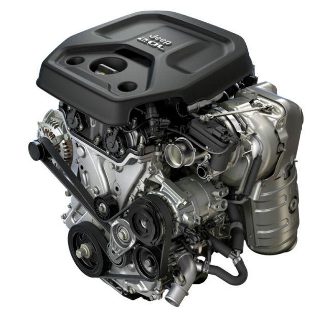 2020 Jeep Wrangler Pickup Truck engine