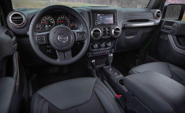 2020 Jeep Wrangler Pickup Truck interior