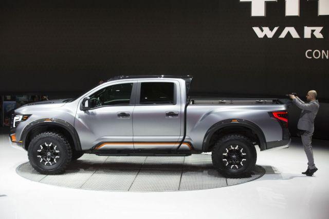 2020 Nissan Titan Warrior side