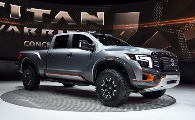2020 Nissan Titan Warrior