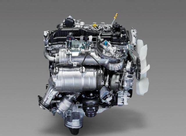 2020 Toyota Tacoma Diesel engine