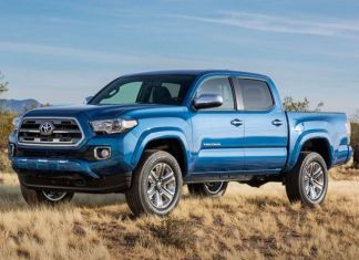 2020 Toyota Tacoma TRD Pro front look