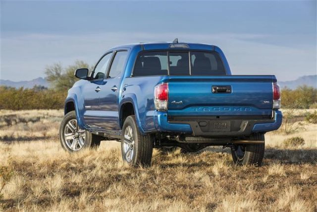 2020 Toyota Tacoma TRD Pro rear
