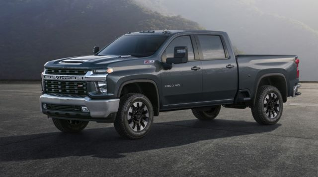 2020 Chevy Silverado 2500HD High Country side