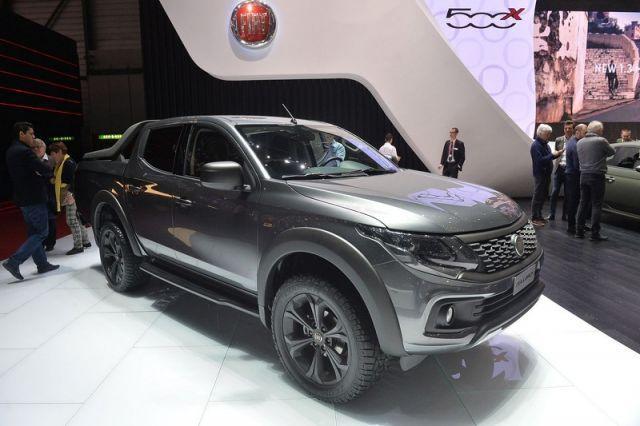 2020 Fiat Fullback front