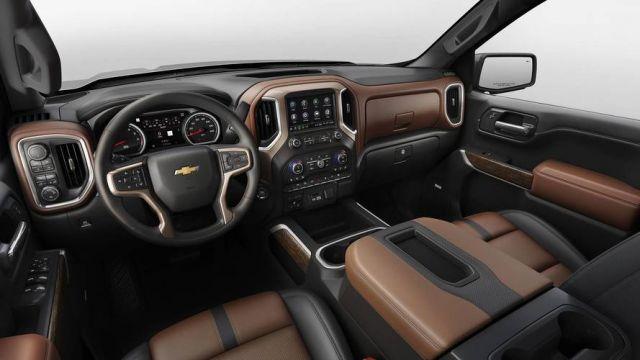 2020 Chevy Silverado 2500HD interior