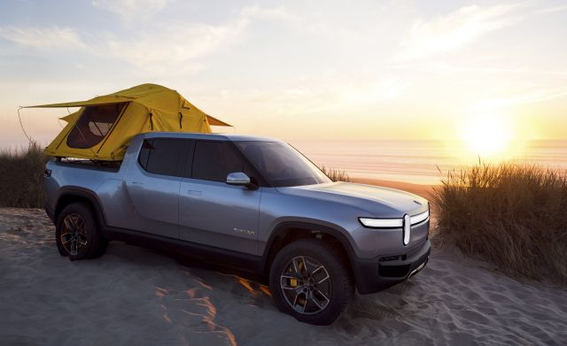 2020 Rivian R1T front