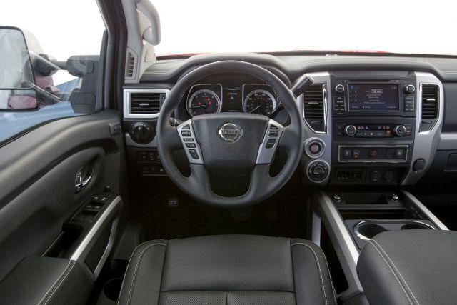 2020 Nissan Titan XD interior