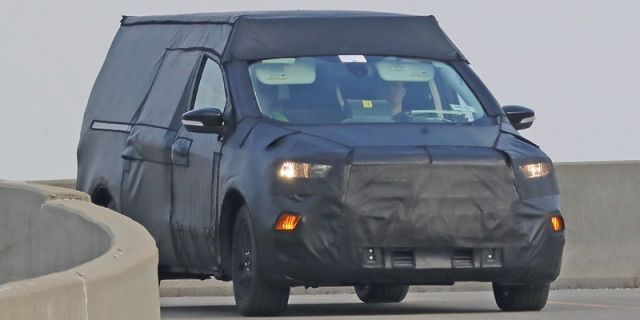2021 Ford Courier front
