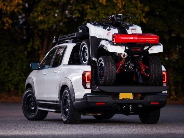 2021 Honda Ridgeline rear look