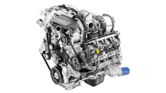 2020 Chevy Silverado 3500HD engine